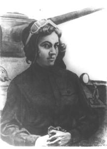 Танкистка Мария Октябрьская