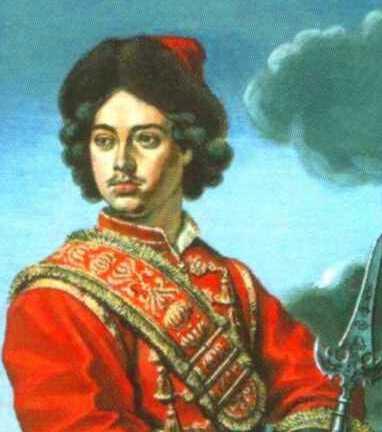 Пётр Великий в конце семнадцатого века