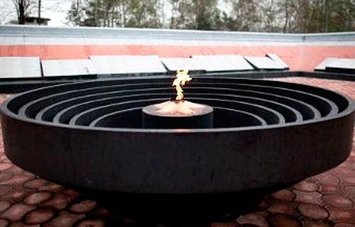 Вечный огонь в Артёме