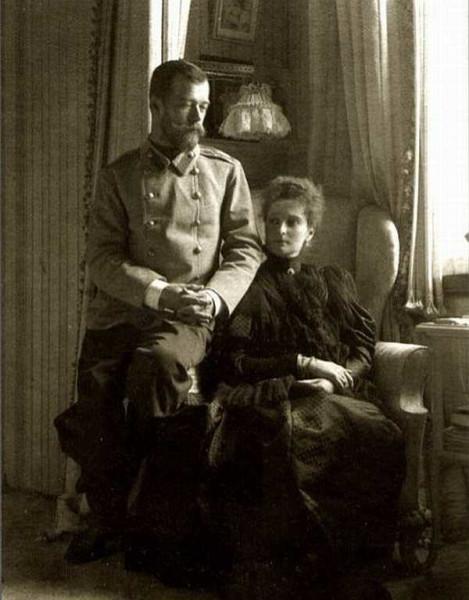 Николай и Александра - семейная идиллия