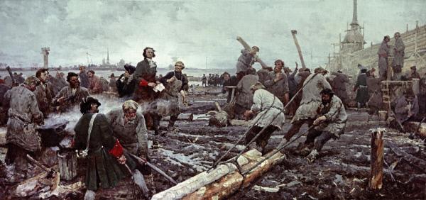 Строительство Петербурга