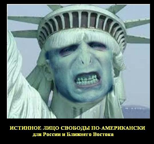 Демотиватор Свобода по-американски