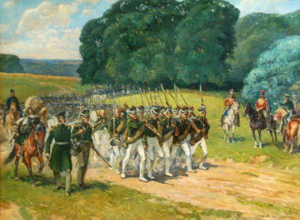 Отступление русской армии в 1812 году