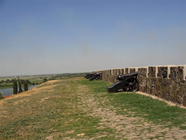 Остатки старой крепости Азов