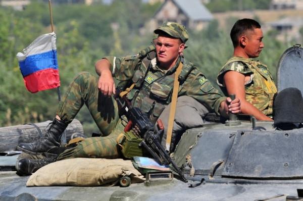 Пятидневная война - Русские войска на отдыхе