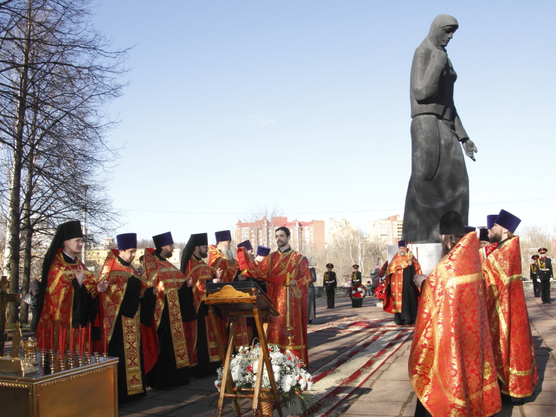 Панихида по героям Великой Отечественной