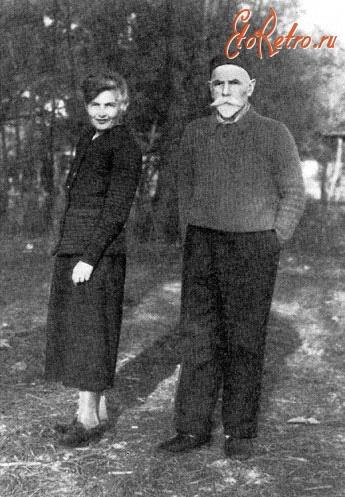 Деникин с женой