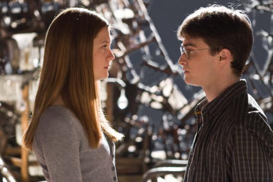 Гарри и Джинни в Выручай-команте