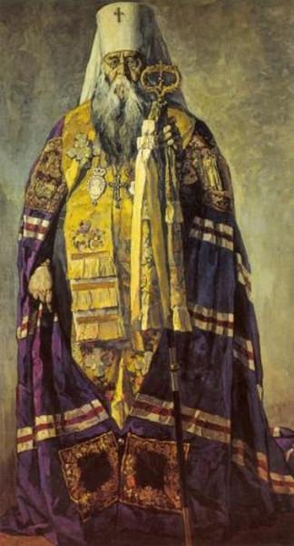 Патриарх Сергий в полный рост