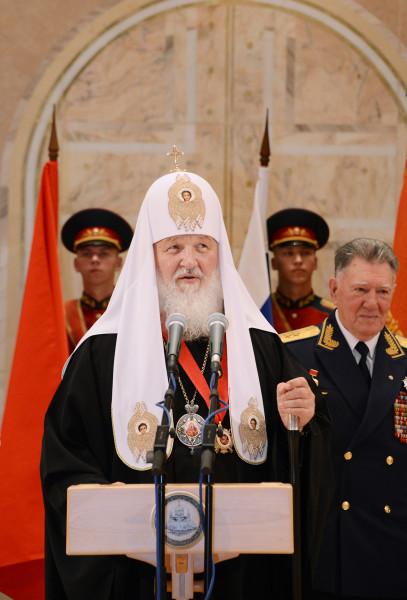 Патриарх Кирилл обращается к ветеранам
