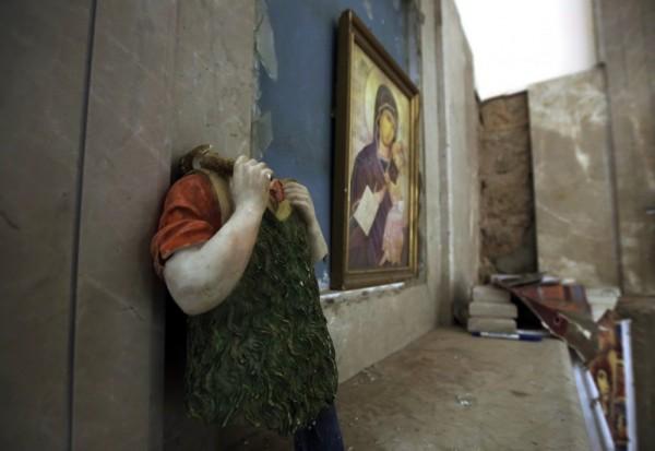 Война в Сирии - страдают православные святыни