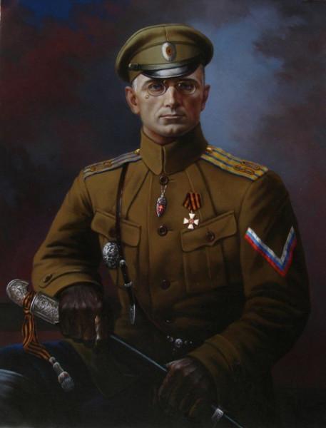 Дроздовский - полковник Белой Гвардии