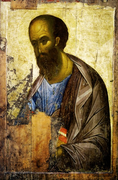 Апостол Павел - древняя икона