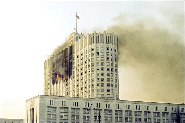 Пожар в Белом доме