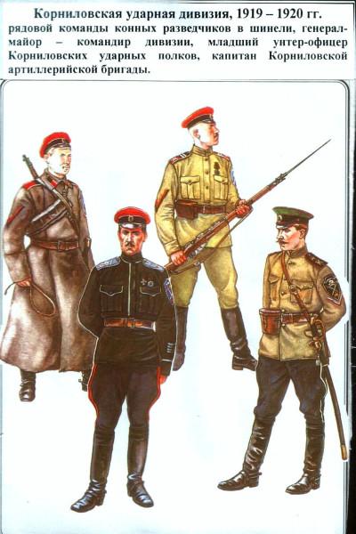 Корниловцы 1919