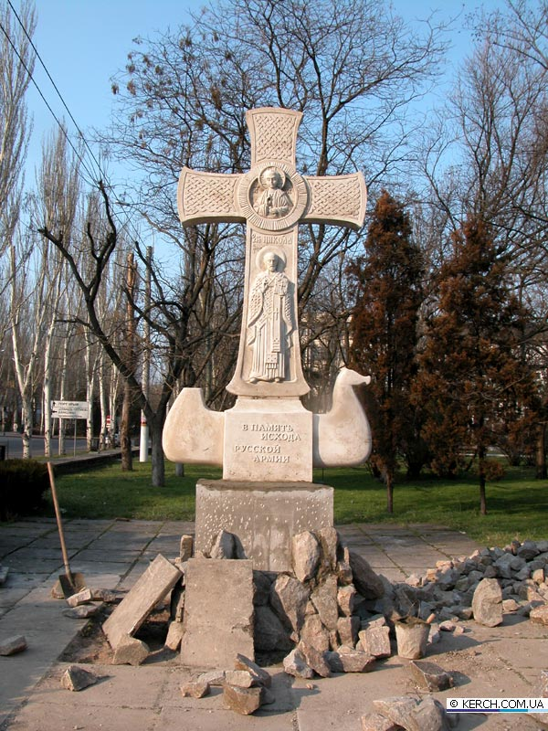 Памятник Врангелю в Керчи