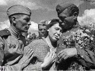 Украина встречает советских освободителей
