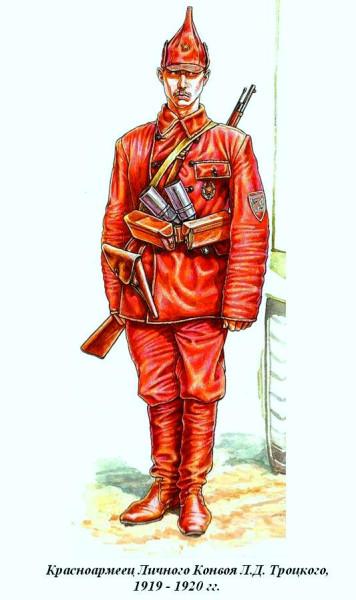 Боец Конвоя Троцкого 1919