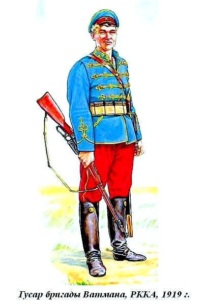 Гусар бригады Ватмана 1919