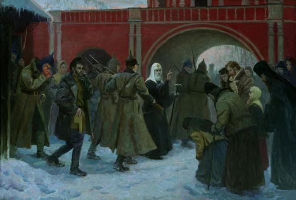 Арест святителя Тихона Московского