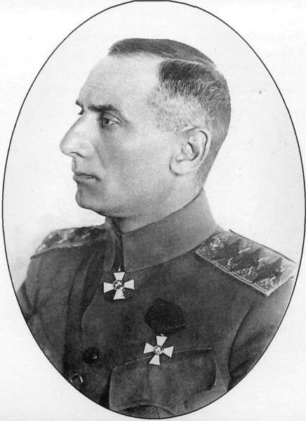 Колчак - главнокомандующий - в медальоне