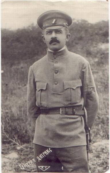 Дитерихс в 1918 году