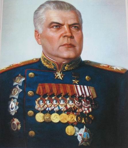 Малиновский в 1945 году
