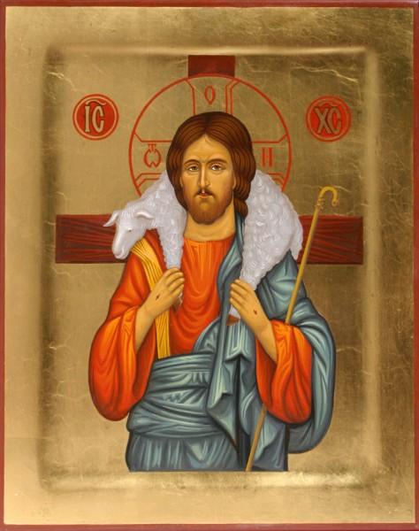 Спаситель - икона Пастырь Добрый