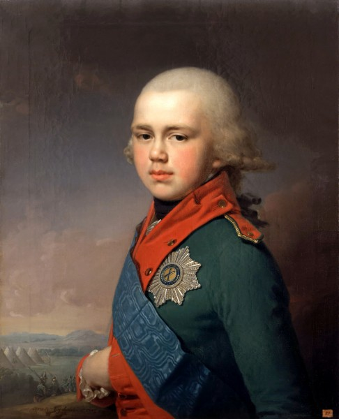 Константин Павлович в армии Суворова