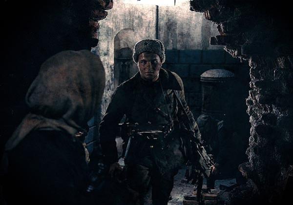 Катя и русский солдат