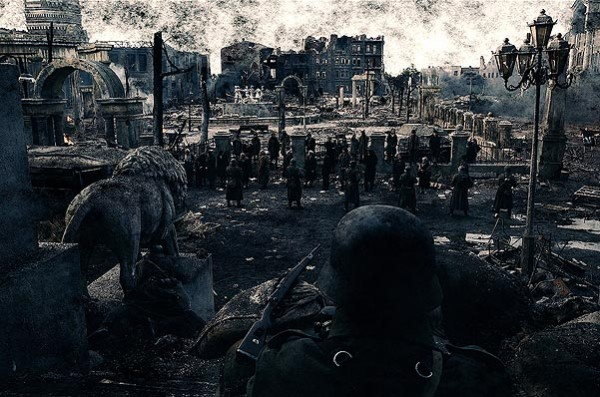 Немцы готовятся к атаке