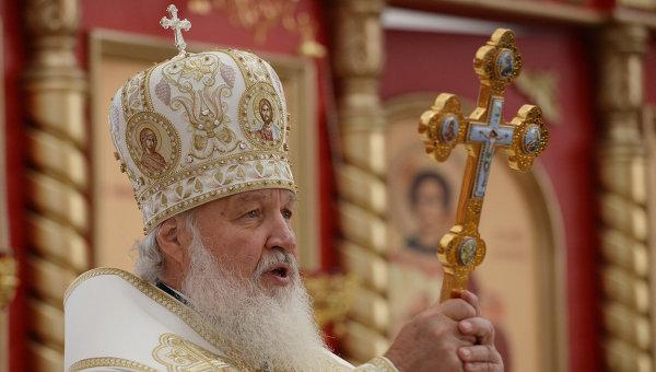 Патриарх Кирилл поздравляет всех с Новым Годом