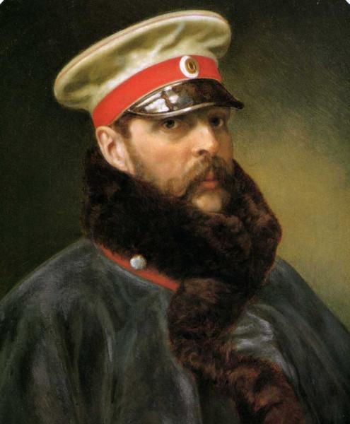 Александр Освободитель в пальто