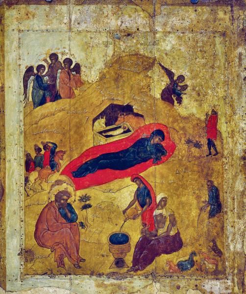 Икона Рождества древняя