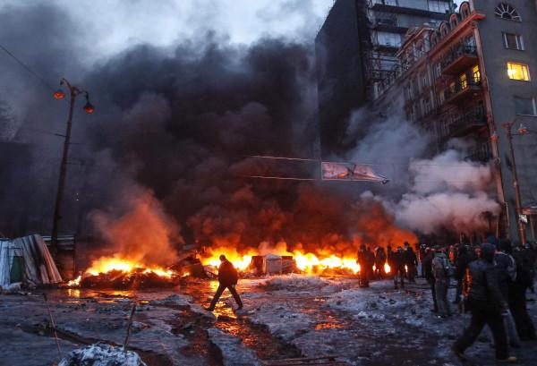 Евромайдан - бунт бессмысленный и беспощадный