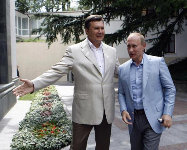 Януковчи и Путин