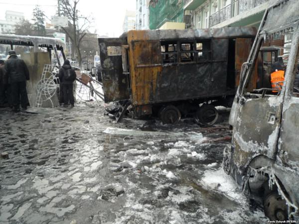 Евромайдан - мерзость запустения на месте святе