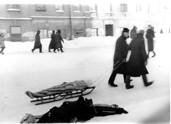 Ленинградские похороны
