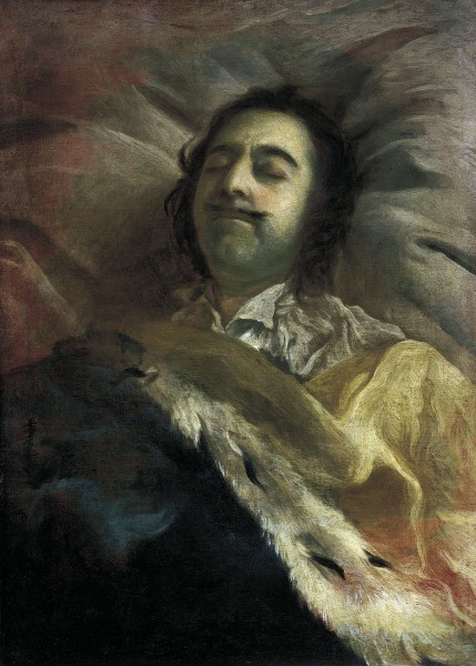 Пётр Великий на смертном одре
