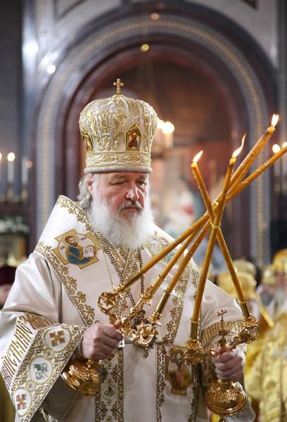 Патриарх благословляет - пока как митрополит