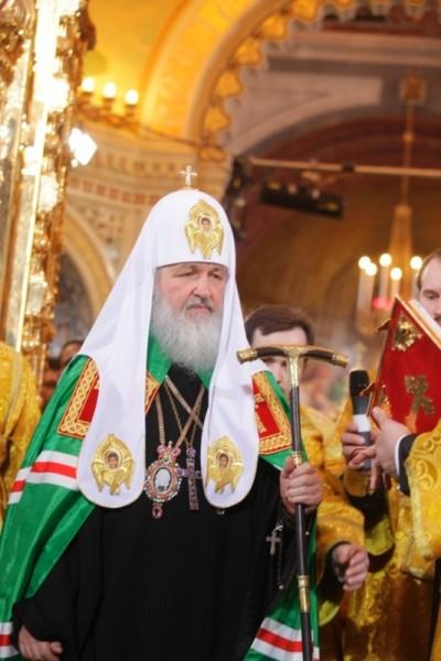 Патриарх с жезлом