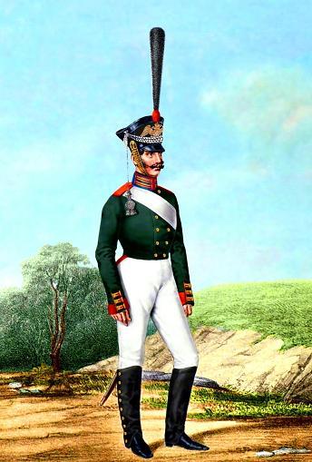 Семёновского полка рядовой 1812
