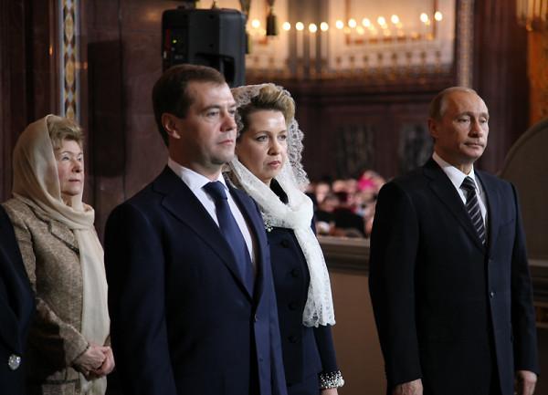 Первые лица государства на церемонии