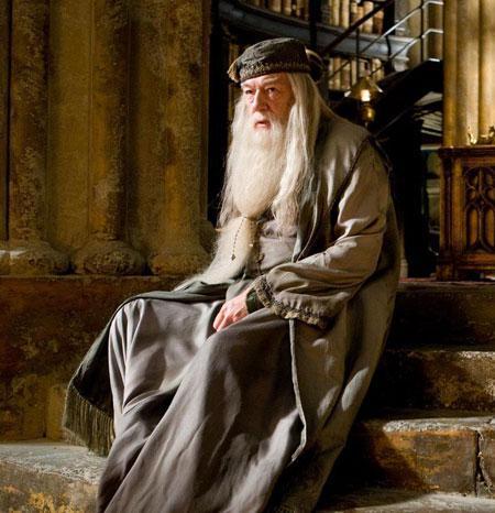 Задумавшийся Дамблдор