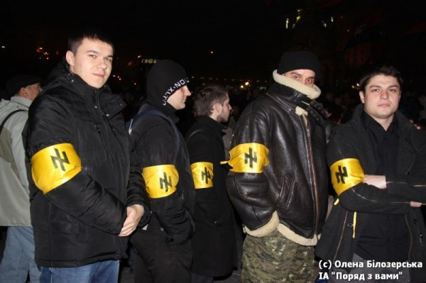 Нацисты на евромайдане