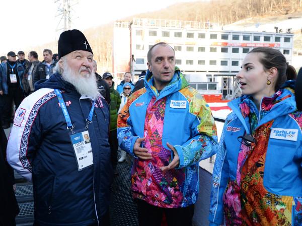 Патриарх на олимпийских объектах