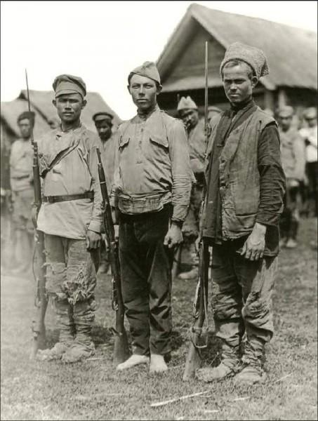 Ижецы-добровольцы 1918 год