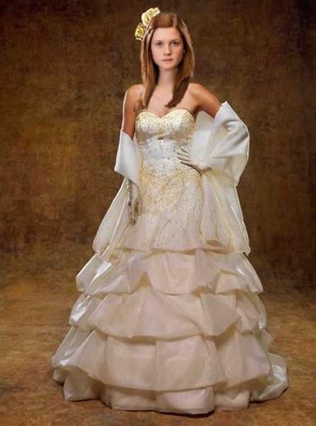 Бонни Райт вся в белом - Джинни в подвенечном платье