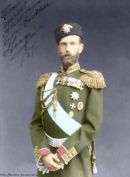 Сергей Александрович в шапке