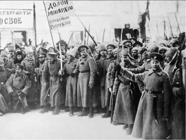 Февральская революция - бунт Петроградского гарнизона